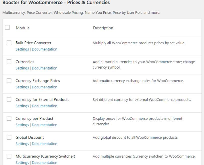 Customize features using Booster for WooCommerce plugin