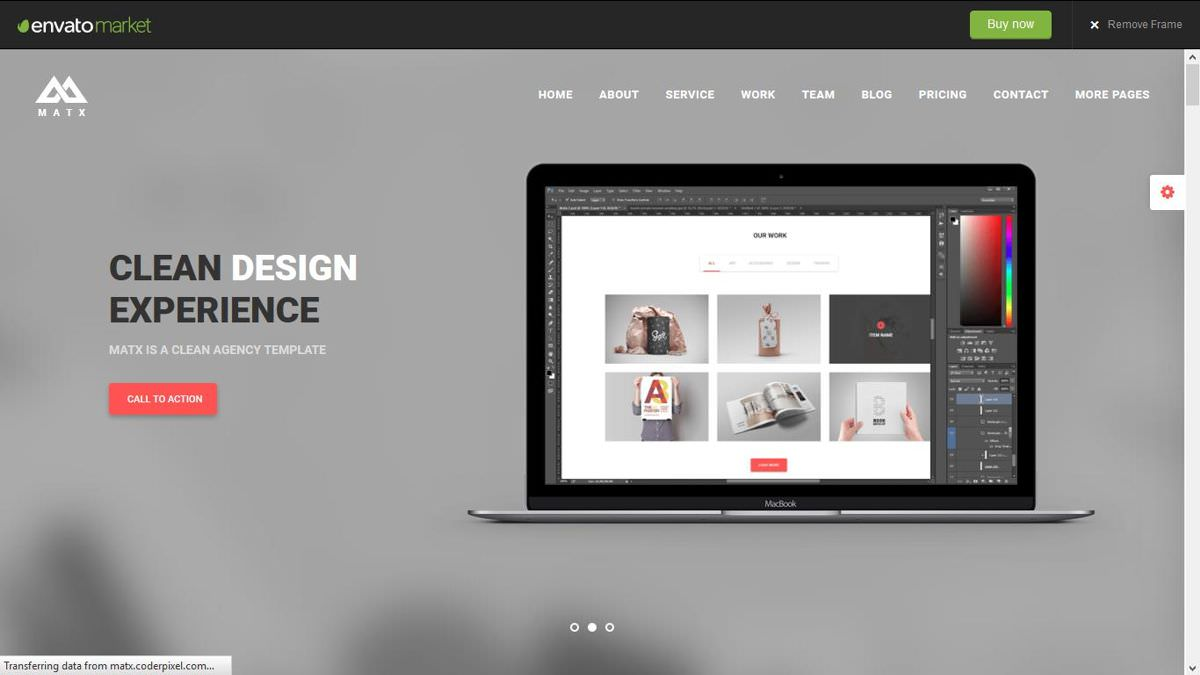 MATX is a creative portfolio theme