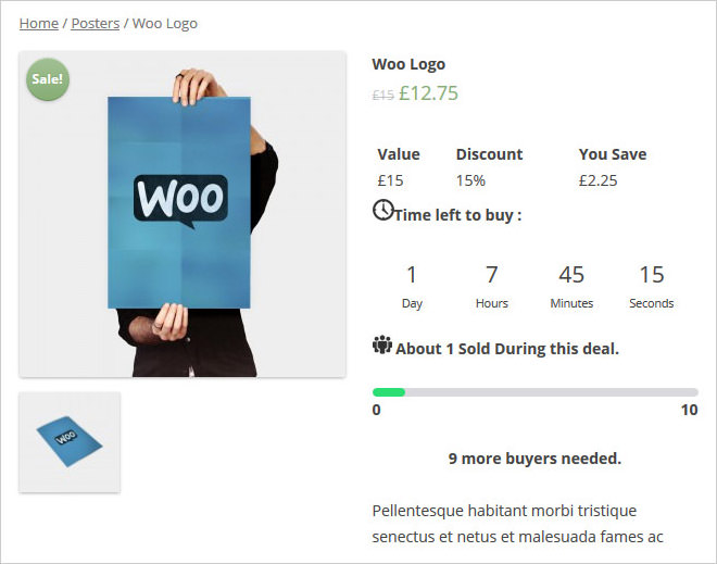 WooCommerce Group & Daily Deals