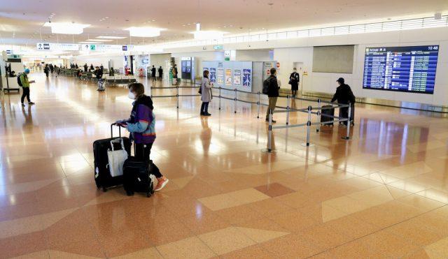 Japan travelers leave Peru on chartered flight amid virus spread