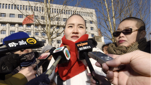 Chinese rights lawyer released from prison, under quarantine: wife