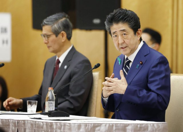 WHO reform needed but Japan has no plan to cut funding: Abe