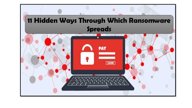 11 Hidden Ways Through Which Ransomware Spreads