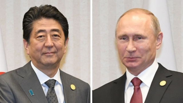 Abe, Putin agree on cooperation over coronavirus response